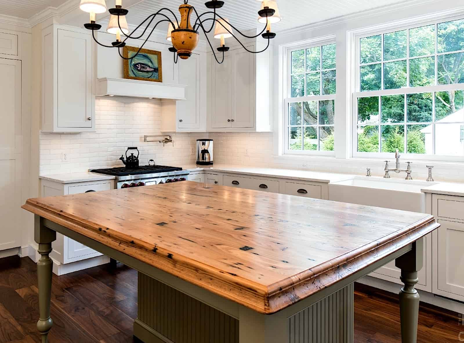 Reclaimed Chestnut by The Kitchen Company