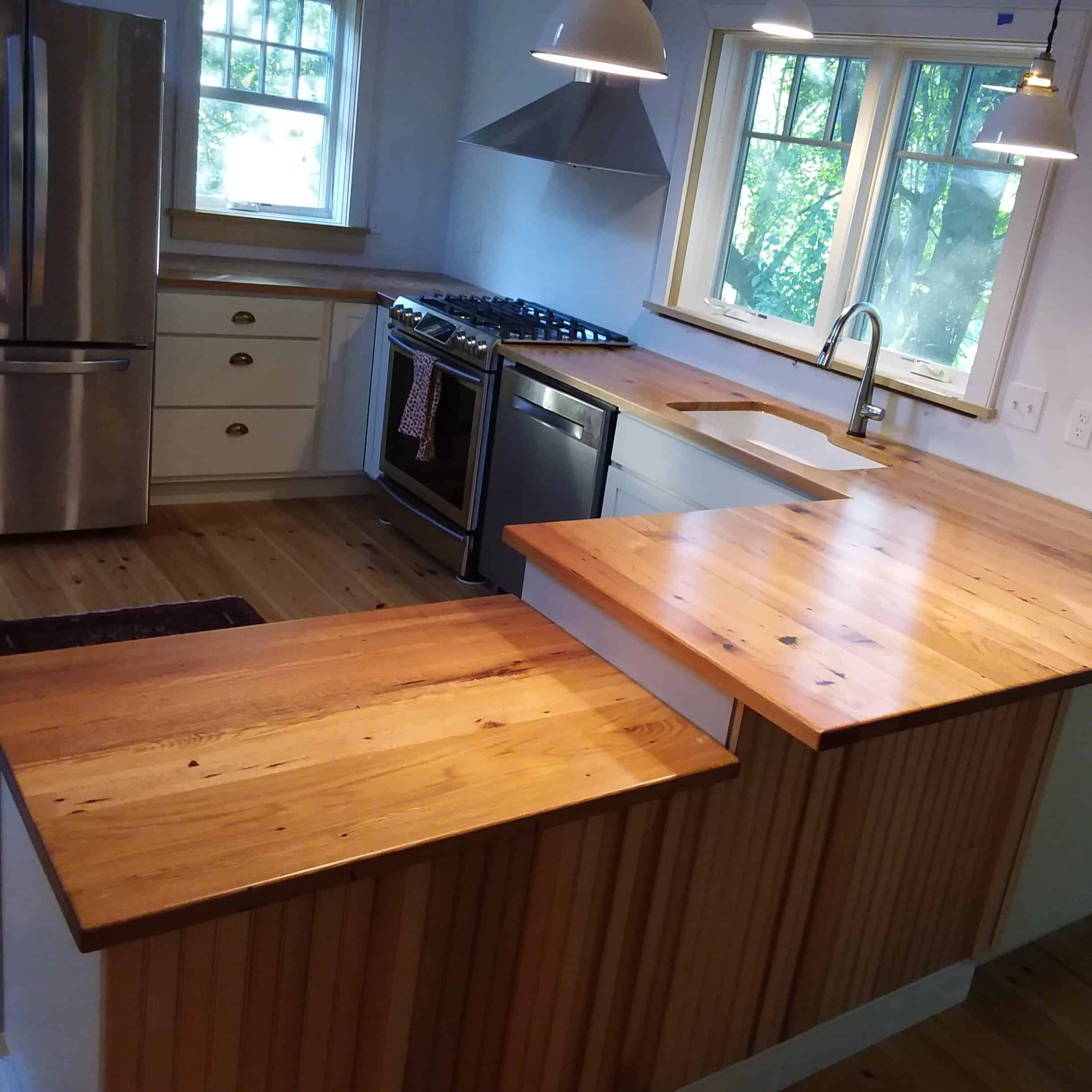 Reclaimed White Oak Countertop